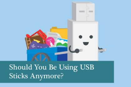 Should I still be using USBs for business data transfer?