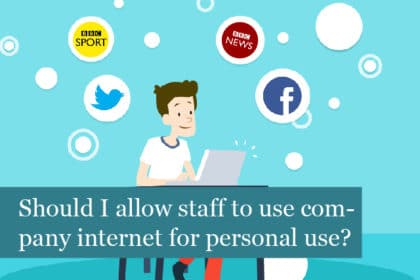 Should I allow my staff to use the company internet for personal use?