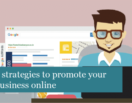 5 strategies to promote your business online