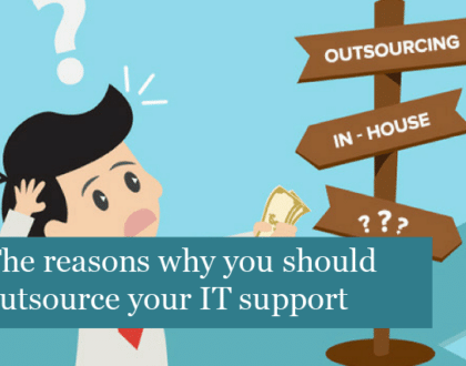 The reasons why you should outsource your IT support
