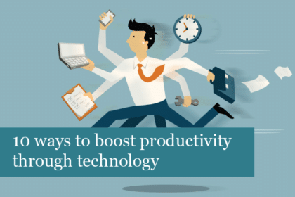 10 ways to boost productivity through technology