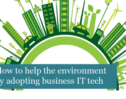 How to help the environment by adopting business IT technology