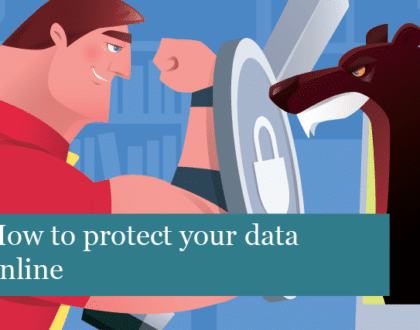 How to protect your data online