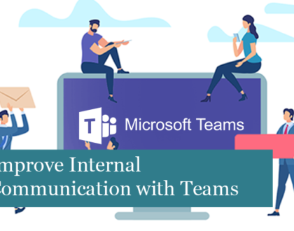 Improve Internal Communication with Microsoft Teams