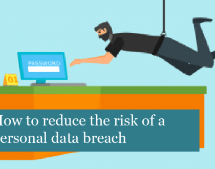How to reduce the risk of a personal data breach