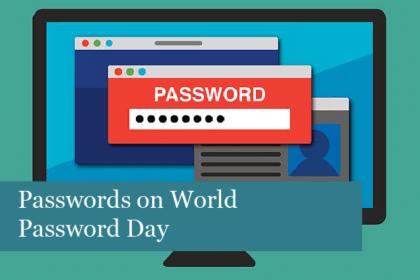 Passwords on World Password Day